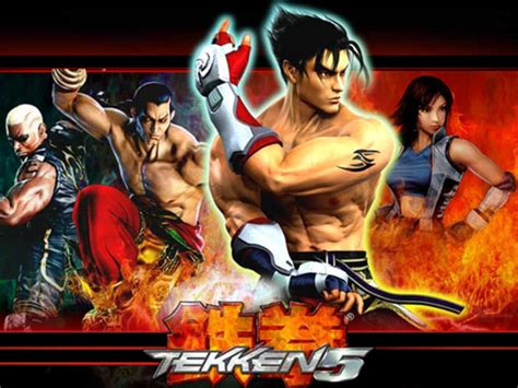 game wallpaper tekken 5 video games tekken 5