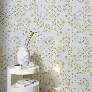 papier peint expans 233 sur intiss 233 triangle jaune castorama