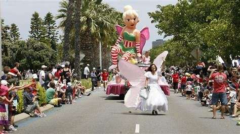 perth s christmas pageant is a hot attraction