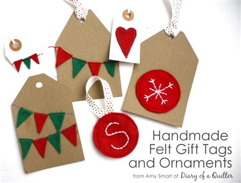 Handmade Felt Gifts - handmade felt ornaments gift tags and bunting skip to