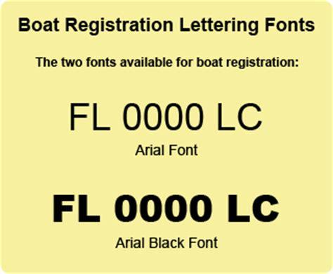 boat registration fonts boat registration lettering