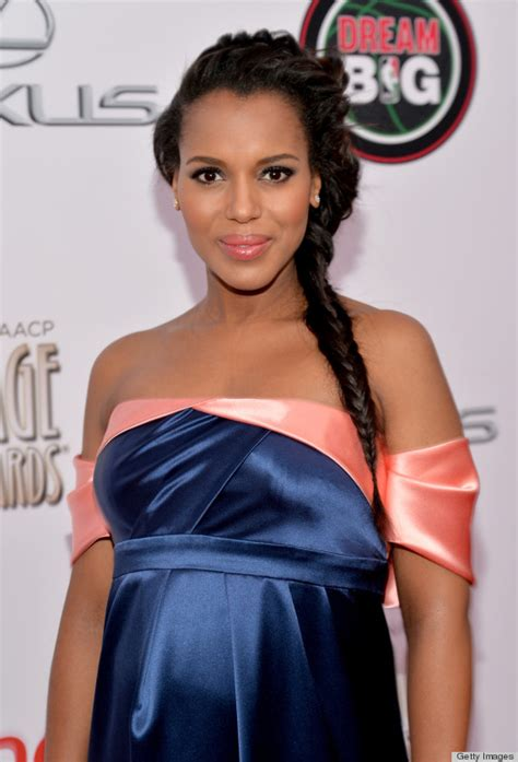kerry washington goddess braids brunettes are having the best week ever on our best