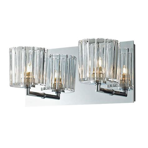 bathroom crystal light fixtures crystal bathroom wall 2 light fixture candle sconces