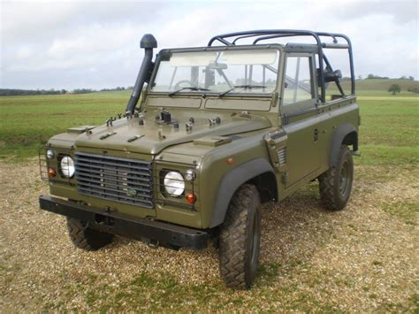 land rover wolf h and h surplus