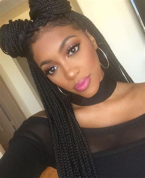 Twisted Hairstyles by Box Braid Twisted Hairstyle