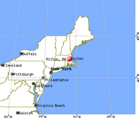 milton, massachusetts (ma 02186) profile: population, maps