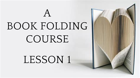 folded book template book folding tutorial lesson 1
