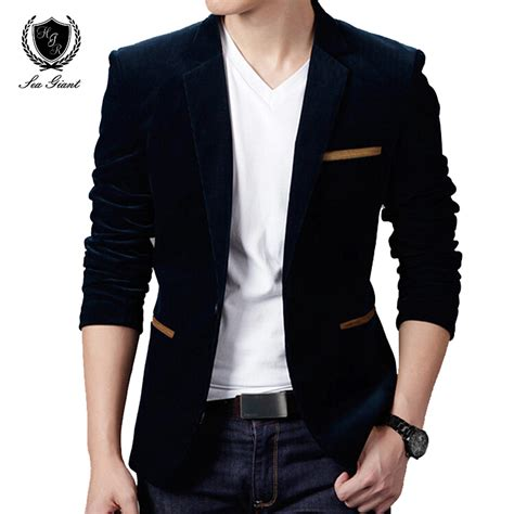 Blazer Style Black 59 new mens fashion brand blazer s style casual slim fit suit jacket blazers coat