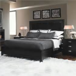 bedroom wall colors with black furniture interiordecodir