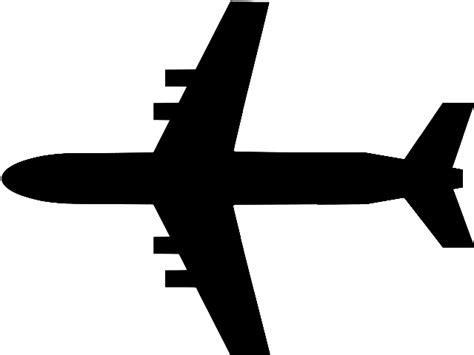 file flugzeug unten svg wikimedia commons