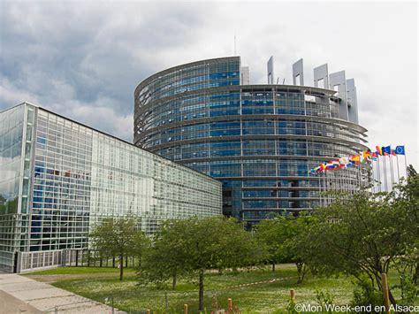 siege parlement europeen visite du parlement europ 233 en de strasbourg mon week end