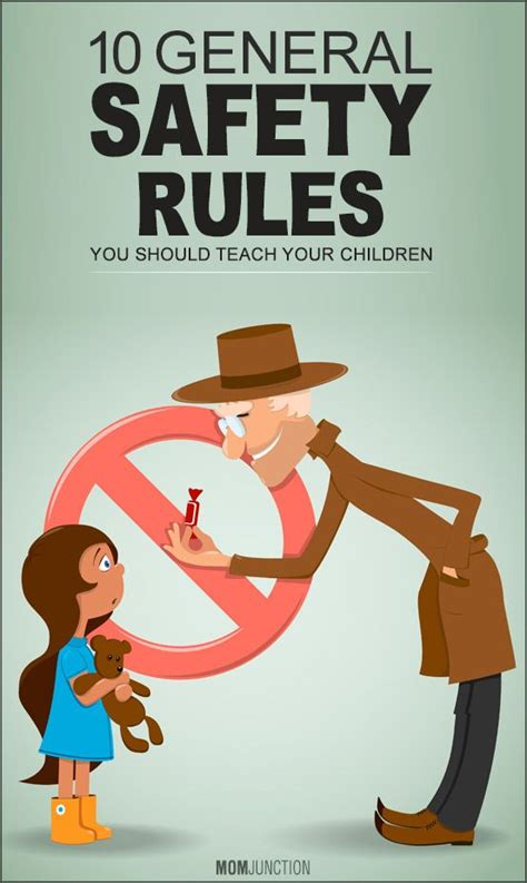 10 General Tips For High School by 10 General Safety You Should Teach Your Children