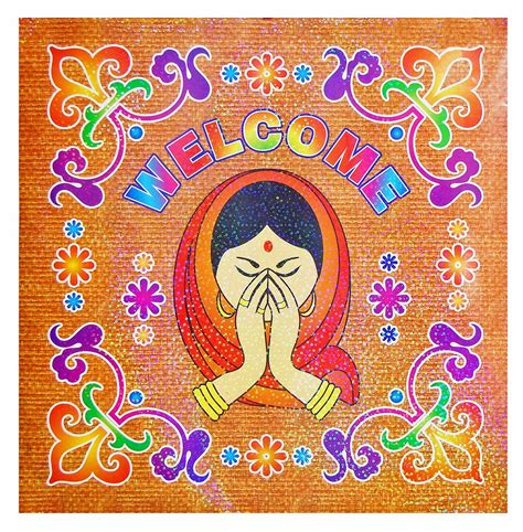 Indian Rangoli Stickers colorful sticker rangoli