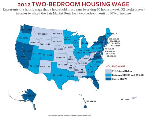 states with low cost of living the minimum wage and the cost of housing sociological images