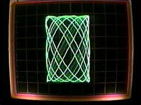 lissajous pattern youtube oscilloscope displaying lissajous patterns from 2 audio