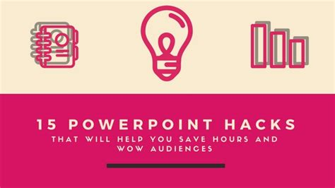 powerpoint design hacks visual hackers visual design for presentations