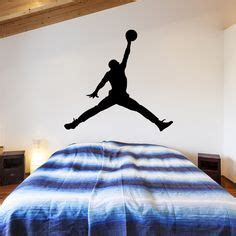 michael jordan bedroom decor 1000 images about wall decals on pinterest basketball