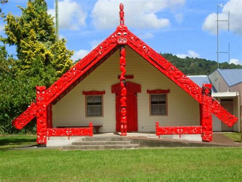 meeting house maori meeting house photo of manawatu wanganui new