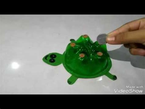 how to make a turtle out of how to make a turtle money box out of plastic bottle