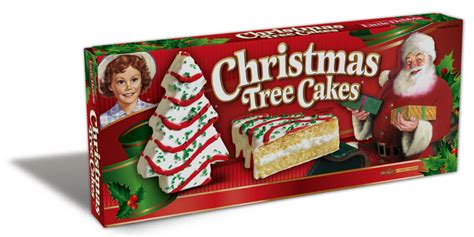 christmas tree cake van little debbie