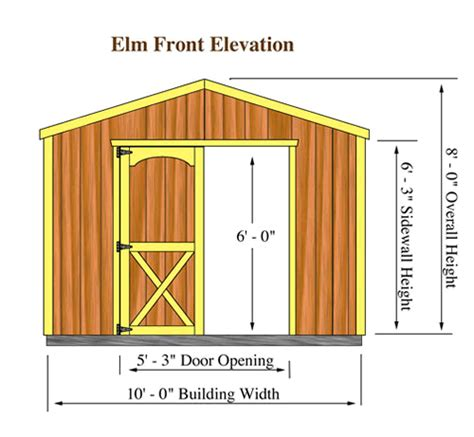 Garden Sheds Sizes by Standard Storage Shed Sizes Storage Shed Plans Free 8x10