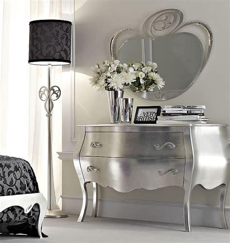specchi per console specchi e console d ingresso spyra foglia argento e mecca