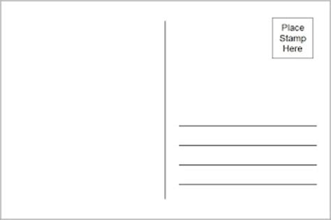 free 4x6 postcard template 4x6 postcard template usps images frompo