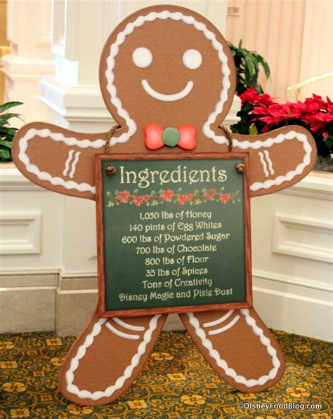 ingredients for gingerbread house 2014 grand floridian gingerbread house and beach club gingerbread treats the disney