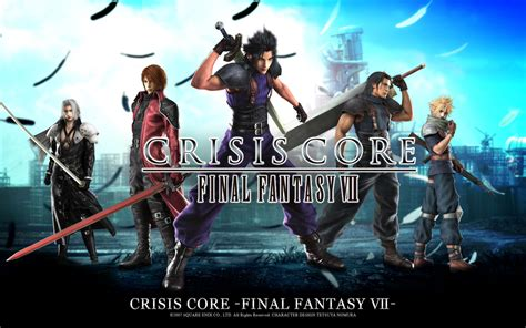 film final fantasy vii crisis core crisis core final fantasy vii images crisis core hd