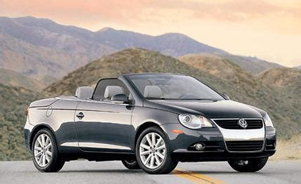 2007 volkswagen eos first drive review motor trend 2007 volkswagen eos first drive review car reviews car and driver