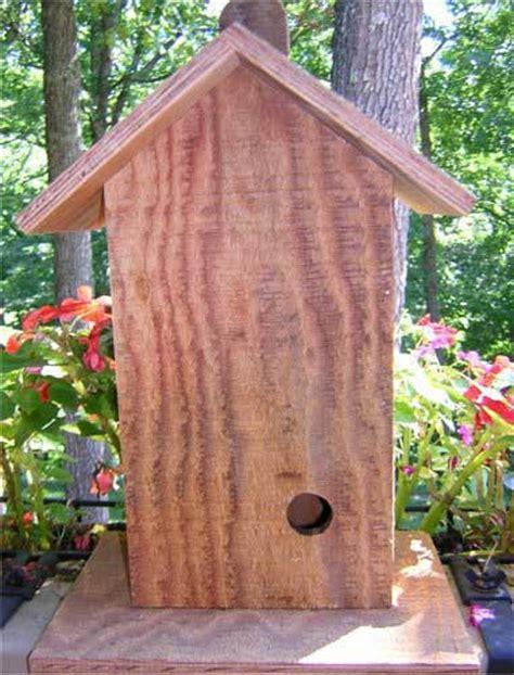 bird house plans build  wren bird house