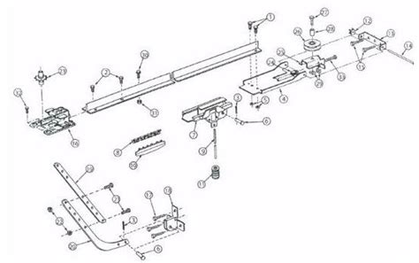 Locate A Part By Model Number Overhead Door Openers Legacy Overhead Door Parts
