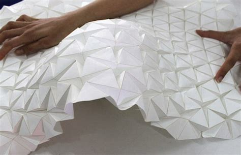 How To Design Origami Models - the house that shapeshifts designers create origami