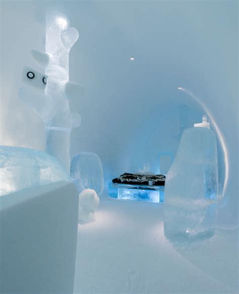 designboom icehotel mini evolution icehotel deluxe suite evokes ancient caves