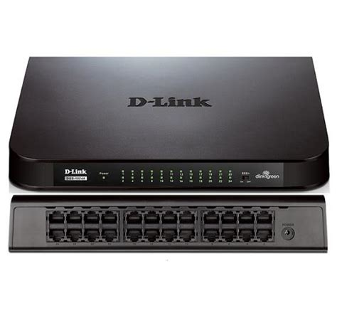 Switch Hub Terbaik jual switch hub 24 port desktop lan d link des 1024a harga