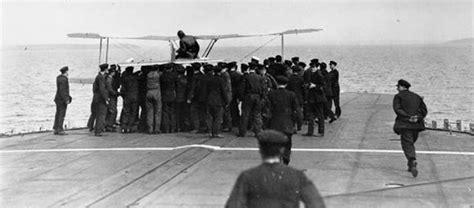 Md Aquila Navy 2 agosto 1917 il primo appontaggio su una portaerei in