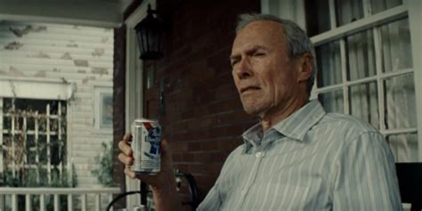 clint eastwood gran torino movie pabst blue ribbon a beer enigma beer snob squad