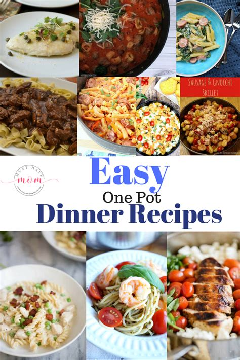easy one pot dinner recipes must have mom
