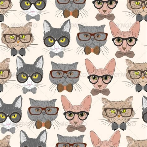 hipster tumblr oh lindo pinterest kitty cats 20 cat patterns photoshop patterns freecreatives