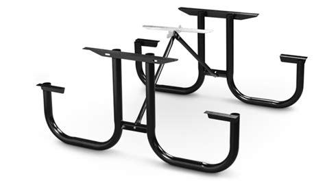picnic table frame kit park master picnic table frame kit steel belson outdoors 174