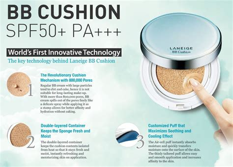 Laneige Bb Cushion Pore laneige bb cushion pore spf50 pa 15g 2