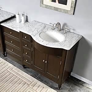Bathroom Sink And Cabinet Combo 58 Quot Bathroom Sink Vanity White Marble Top Cabinet 902wrm Bathroom Vanity And Sink Combo