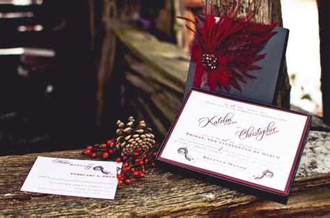 invitation design toronto winter wedding shoot by rachel a clingen wedding decor