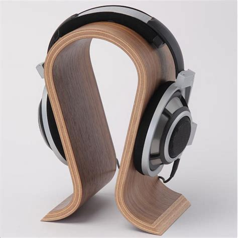 popular wooden headphone stand buy cheap wooden headphone