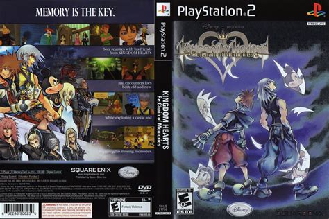 kingdom hearts chain of memories kingdom hearts re chain of memories usa iso