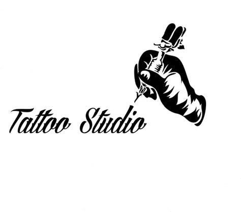 tattoo logo com tattoo salon wall window decoration tattoo machine vinyl
