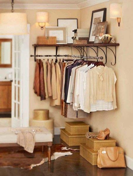 no closet in bedroom closet organizing ideas the no closet solution stylish