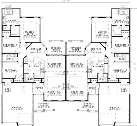 multi family home plans duplex 25 best ideas about duplex house plans on pinterest
