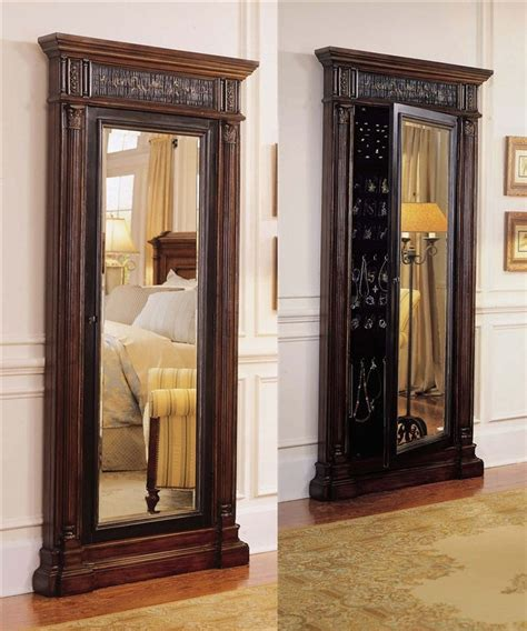 armoire mirror door mirror jewelry armoire on jewelry