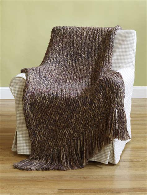 knitting pattern homespun yarn 6 hour afghan in lion brand homespun 90031ad knitting